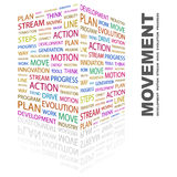 MOVEMENT. Stock Image