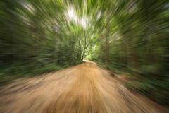 Movement driving. The motion of movement driving Royalty Free Stock Images