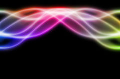 Movement of lights. Stock Photos