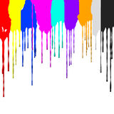 The movement of pigment royalty free illustration