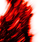 Movement of red (texture) Royalty Free Stock Photo