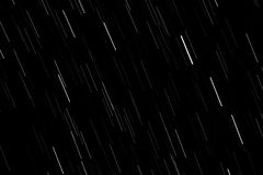 Movement of the stars at night stock illustration