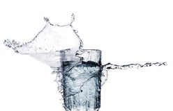 The movement of water Stock Photography