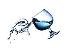 The movement of water Royalty Free Stock Photo