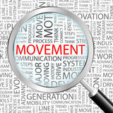 MOVEMENT. Royalty Free Stock Photo