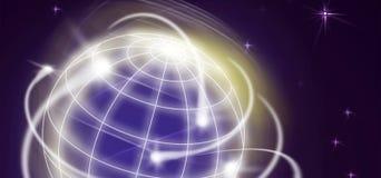 Movements. International movments circling the globe Royalty Free Stock Photos