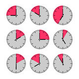 Movements and watches Royalty Free Stock Photo