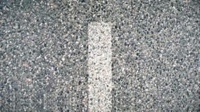 Movendo sobre a estrada animation Marcações running da pista filme