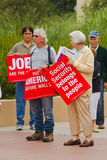 MoveOn.org Protest Rally Royalty Free Stock Photography