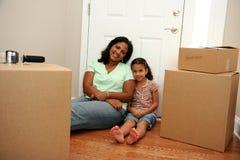 Mover-se Imagem de Stock