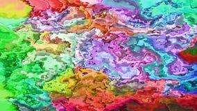 Mover-se abstrato colorido espirra video estoque