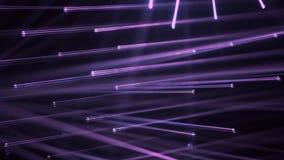 Mover-se brilhante das luzes da fase UV roxo ou ultravioleta ilustração stock