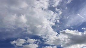 Mover-se das nuvens de TimeLapse filme