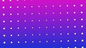 Mover-se de intervalo mínimo colorido da rotação do teste padrão de pontos ilustração royalty free