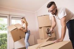 Mover-se dentro Foto de Stock Royalty Free