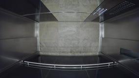 Mover-se vazio do elevador vídeos de arquivo