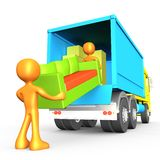 Movers royalty free illustration