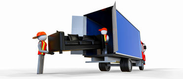 Movers Royalty Free Stock Photo