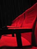 Movie. Seats at the s Royalty Free Stock Photos