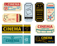 Movie admission Stock Photo