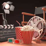 Movie Art Royalty Free Stock Photo
