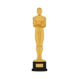 Movie Award Icon Isolated On White Background Royalty Free Stock Photo