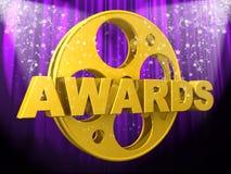Movie Awards Stock Photos