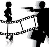 Movie background Royalty Free Stock Image
