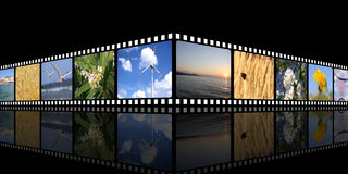 Movie background Royalty Free Stock Photo