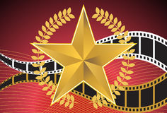 Movie Background: Star Royalty Free Stock Photography