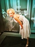 Movie Bombshell Marilyn Monroe waxwork. 50's Hollywood blonde siren, actress Marilyn Monroe from 'The Seven Year Itch Stock Photo