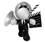 Movie business industry icon Royalty Free Stock Photos