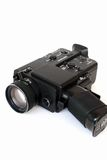 Movie camera. A vintage 8mm film camera Stock Image