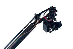 Movie camera on a crane Royalty Free Stock Photography