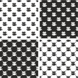 Movie Camera Seamless Pattern Set. This image is a illustration and can be scaled to any size without loss of resolution Royalty Free Stock Image