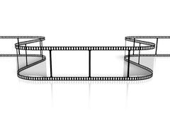 Movie/ camera tape concept Stock Images