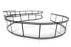 Movie/ camera tape concept Stock Photography