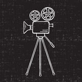 Movie Camera Stock Photo