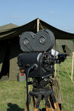 Movie Camera. WWII Movie Camera on Display Stock Image