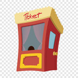 Movie cartoon box office. On transparent background Stock Images