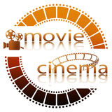 Movie cinema stock illustration
