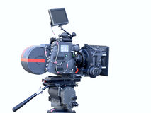 Movie cinema camera Royalty Free Stock Image
