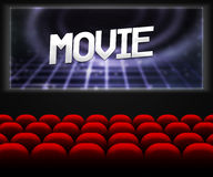 Movie Cinema Hall Background Stock Photos