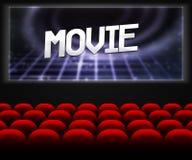Movie Cinema Hall Background Stock Photos