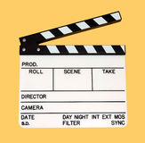 Movie clap Stock Photo