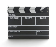 Movie clap board Stock Images