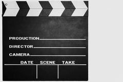 Movie clap Royalty Free Stock Photography