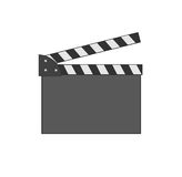 Movie clap. Royalty Free Stock Photos