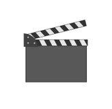 Movie clap. Movie clap - vector image Royalty Free Stock Photos