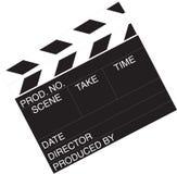 Movie clapboard Stock Photos